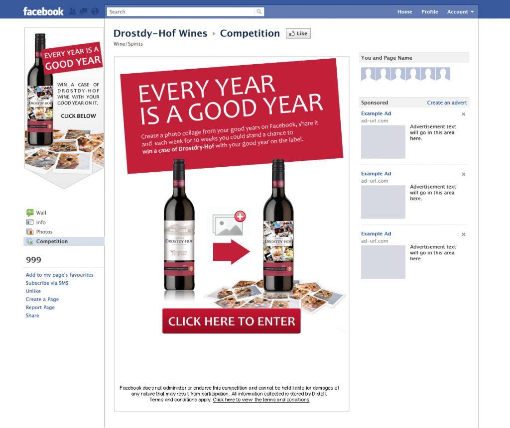 Drostdy-Hof Facebook App Concept FB-App-01