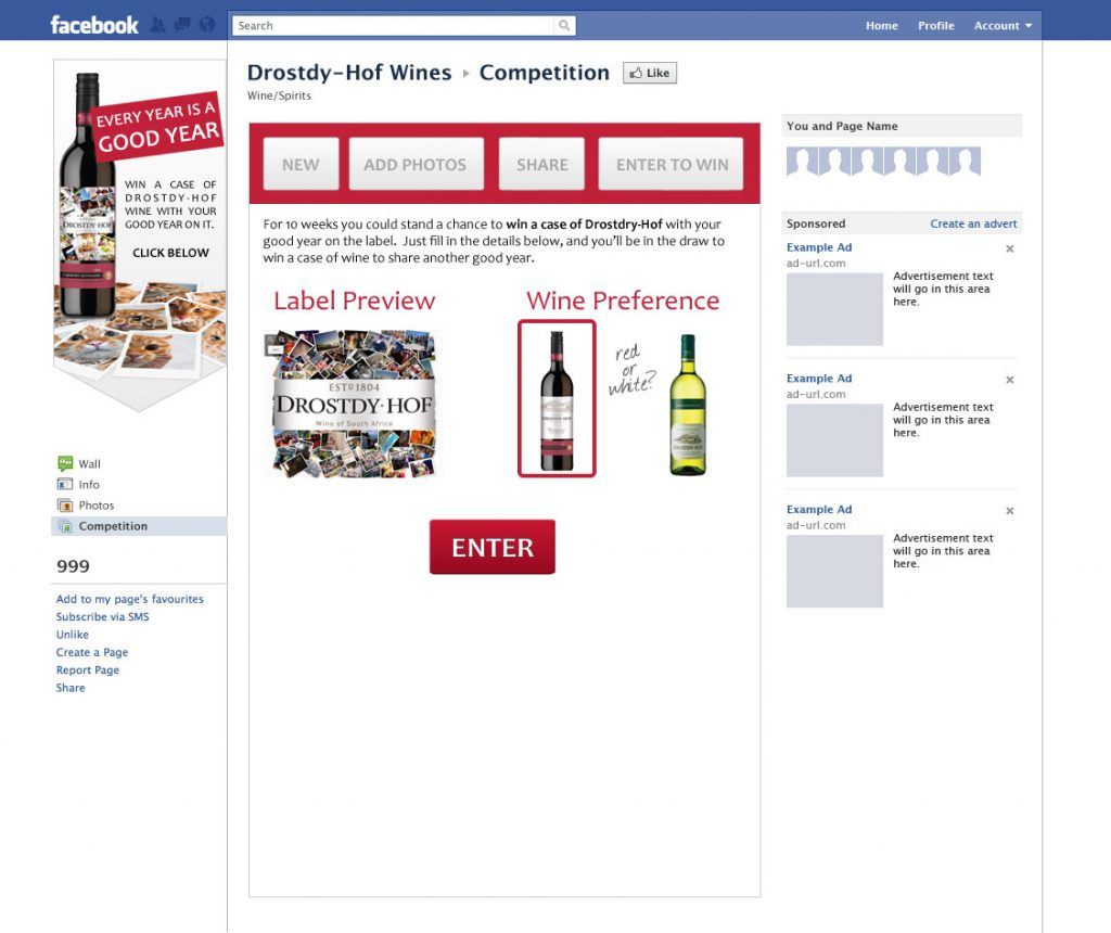 Drostdy-Hof Facebook App Concept FB-App-04